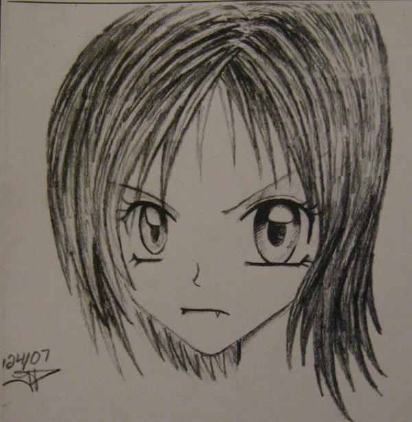 demented anime GIRL