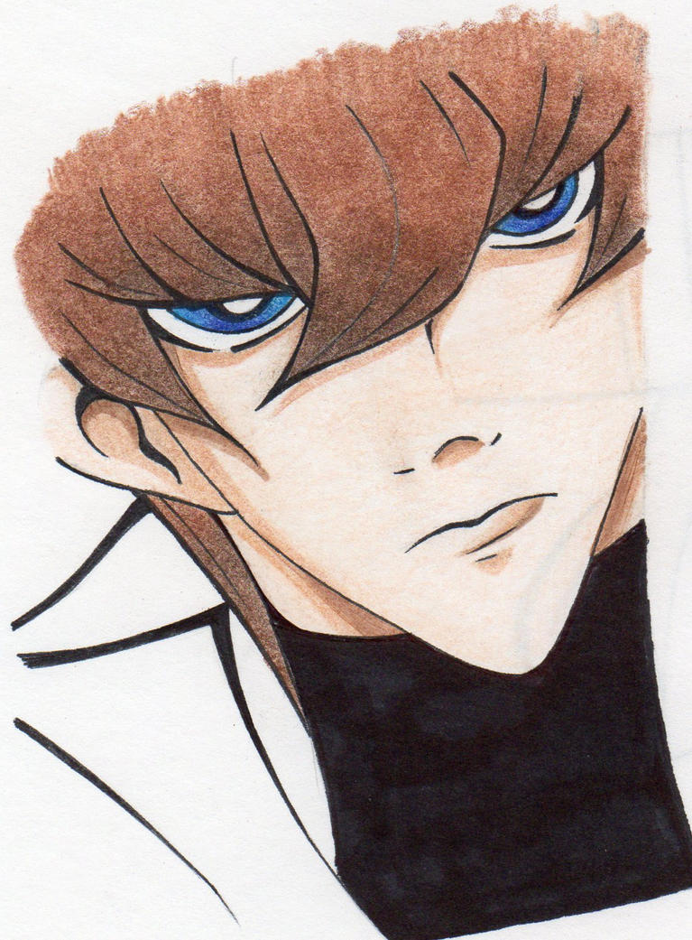 Sketchdump: Seto Kaiba by MikaelaHatsune