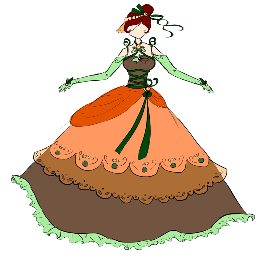 PUMPKIN DRESS AUUUAA by watermelon-clock