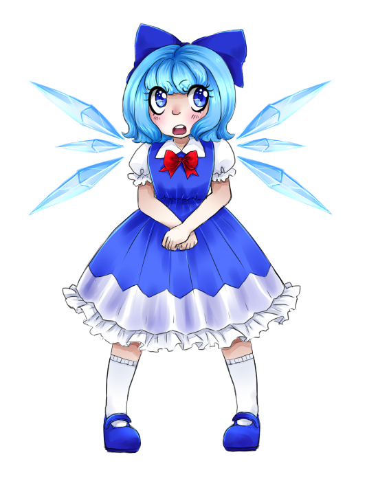 Cirno by watermelon-clock