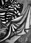 Fabric Charcoal Study