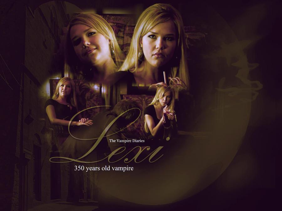 Vampire Diaries Lexi by SarahZwerg on deviantART