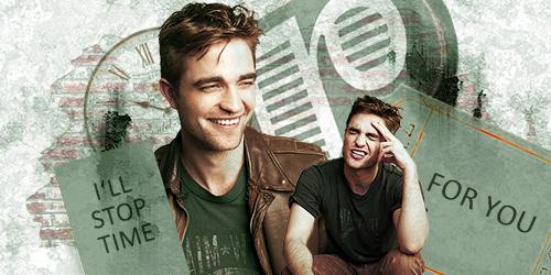 Robert Pattinson Time Sig by SarahZwerg