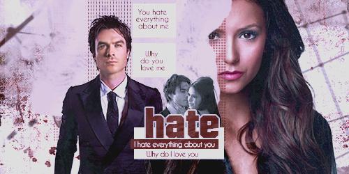 Ian and Nina Hate and Love by SarahZwerg