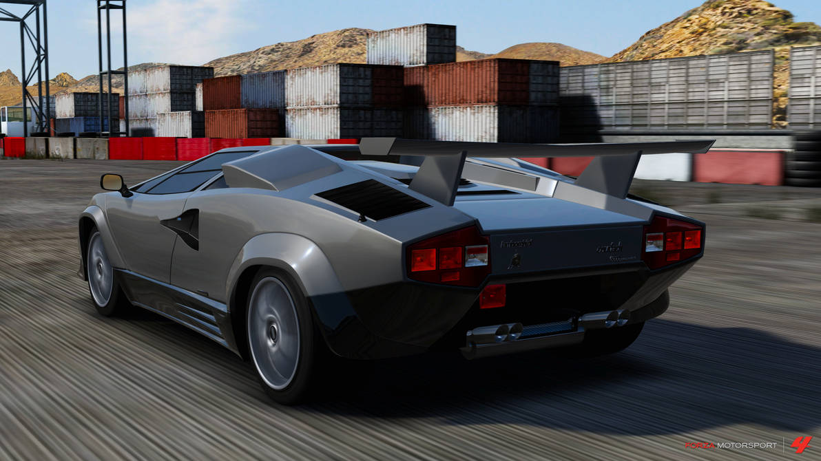 1988 Lamborghini Countach Lp5000 Qv By W0lfix On Deviantart