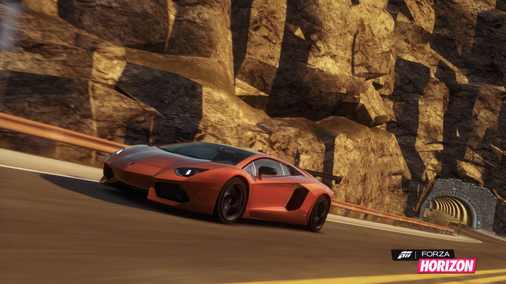 Forza Horizon Lamborghini Aventador By W0lfix