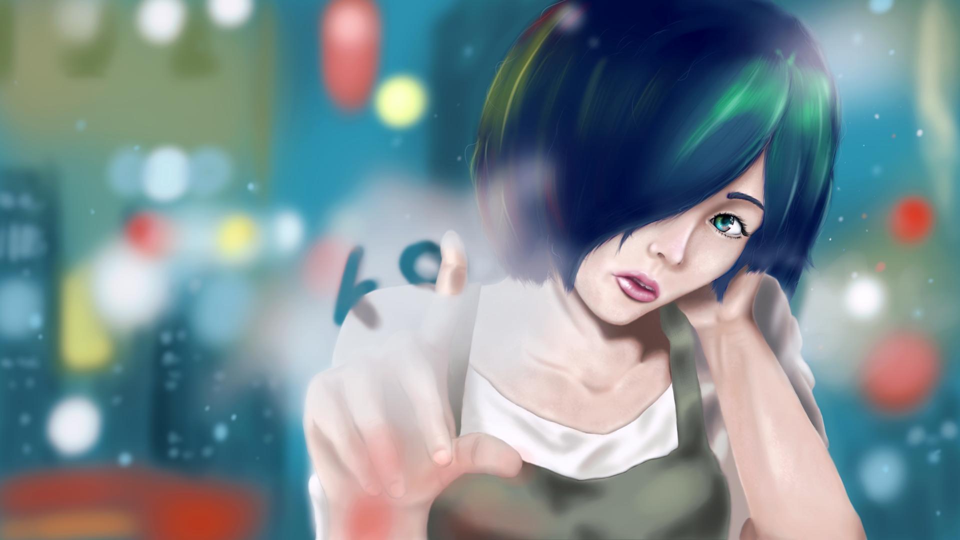 Touka Kirishima By W0lfix On DeviantArt