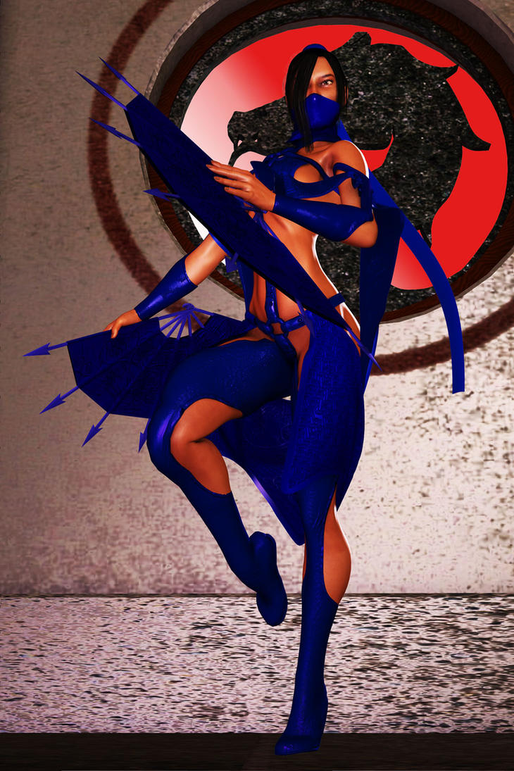 Mortal Kombat Kitana by FredAckerman