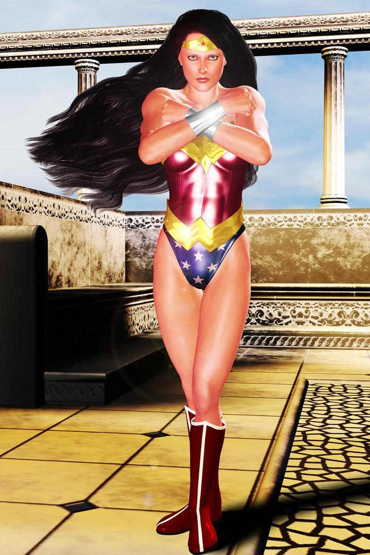 Wonder Woman Glorious by FredAckerman