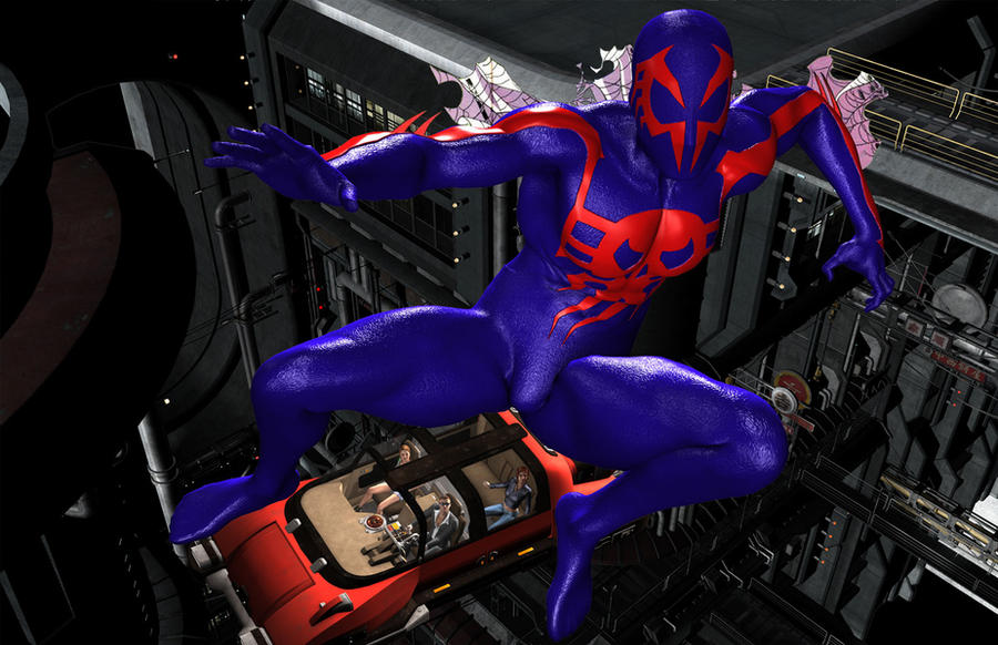 Spider-Man 2099 By FredAckerman On DeviantArt