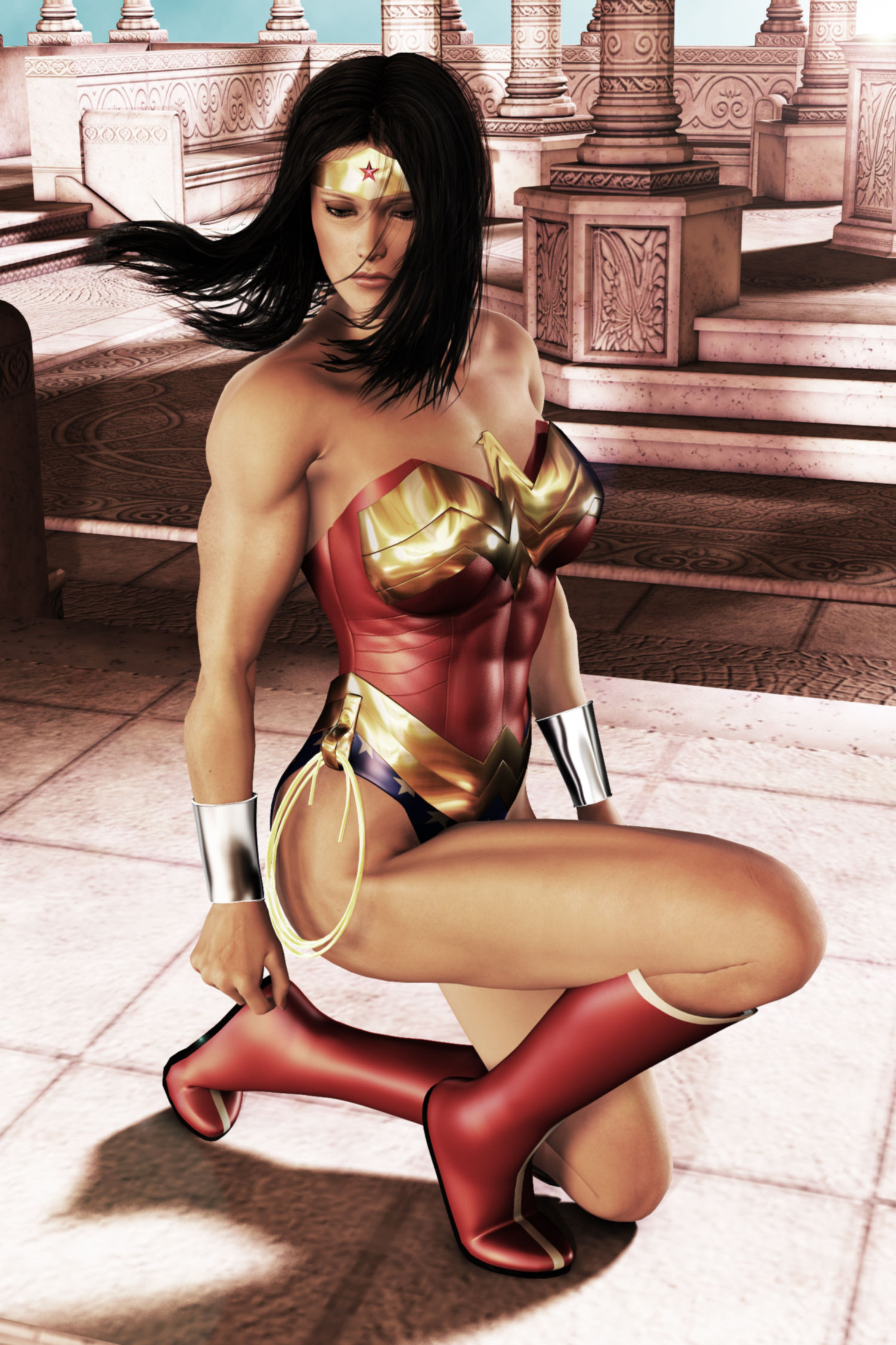Wonder Woman - Remorse by FredAckerman