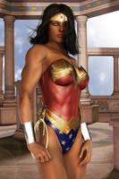 Wonder Woman - New Skin by FredAckerman