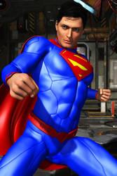 New 52 Superman by FredAckerman