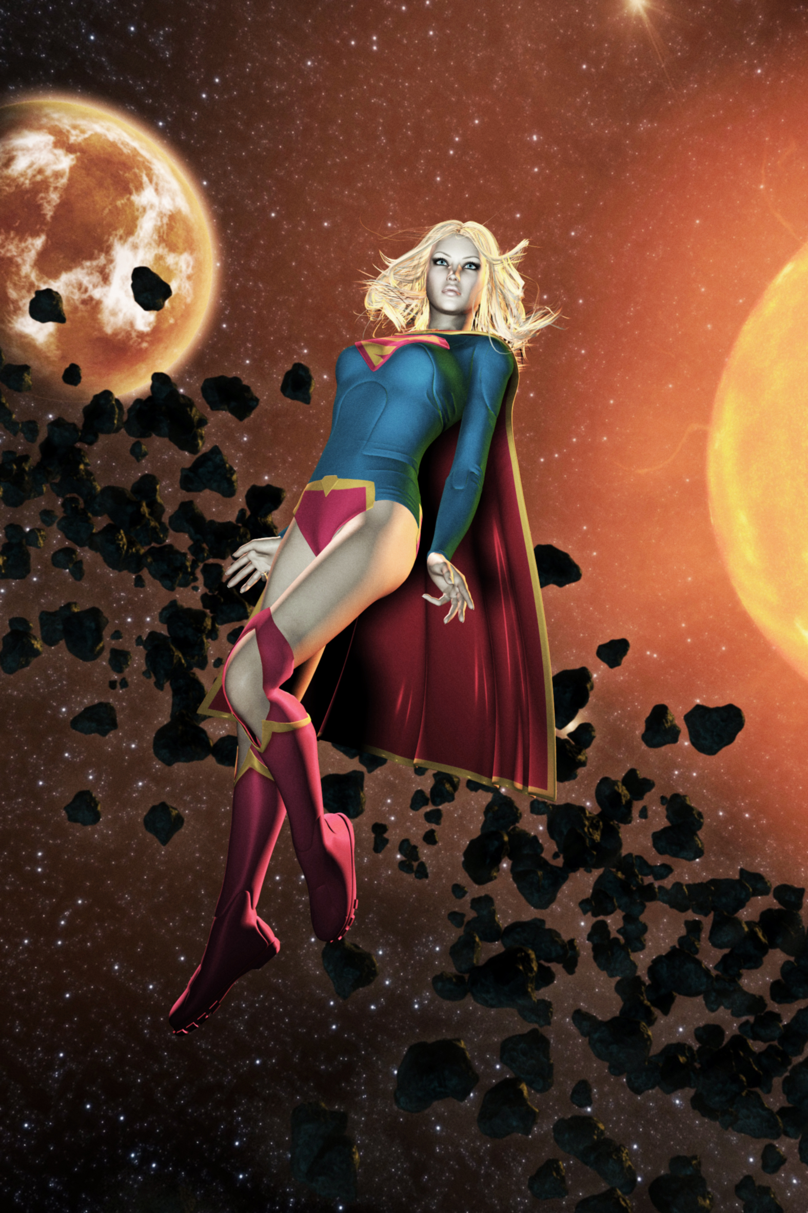 Supergirl New 52 by FredAckerman