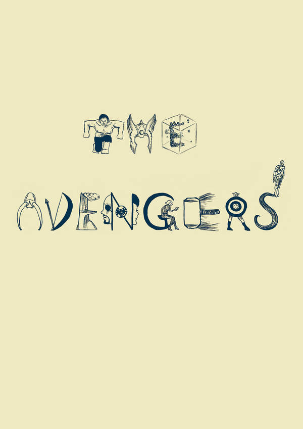 selfmade avengers font by strawberryfray