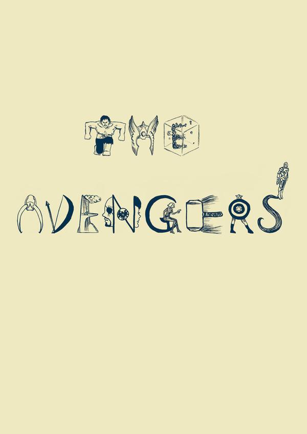 selfmade avengers font
