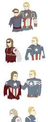 it's a bucky/steve thing by strawberryfray