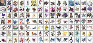 Digimon Zukan 2019
