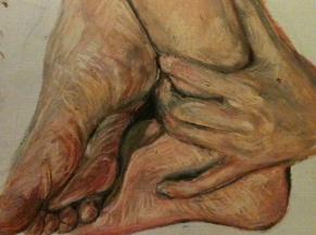Feet and Hand by xXcourtneyXx808