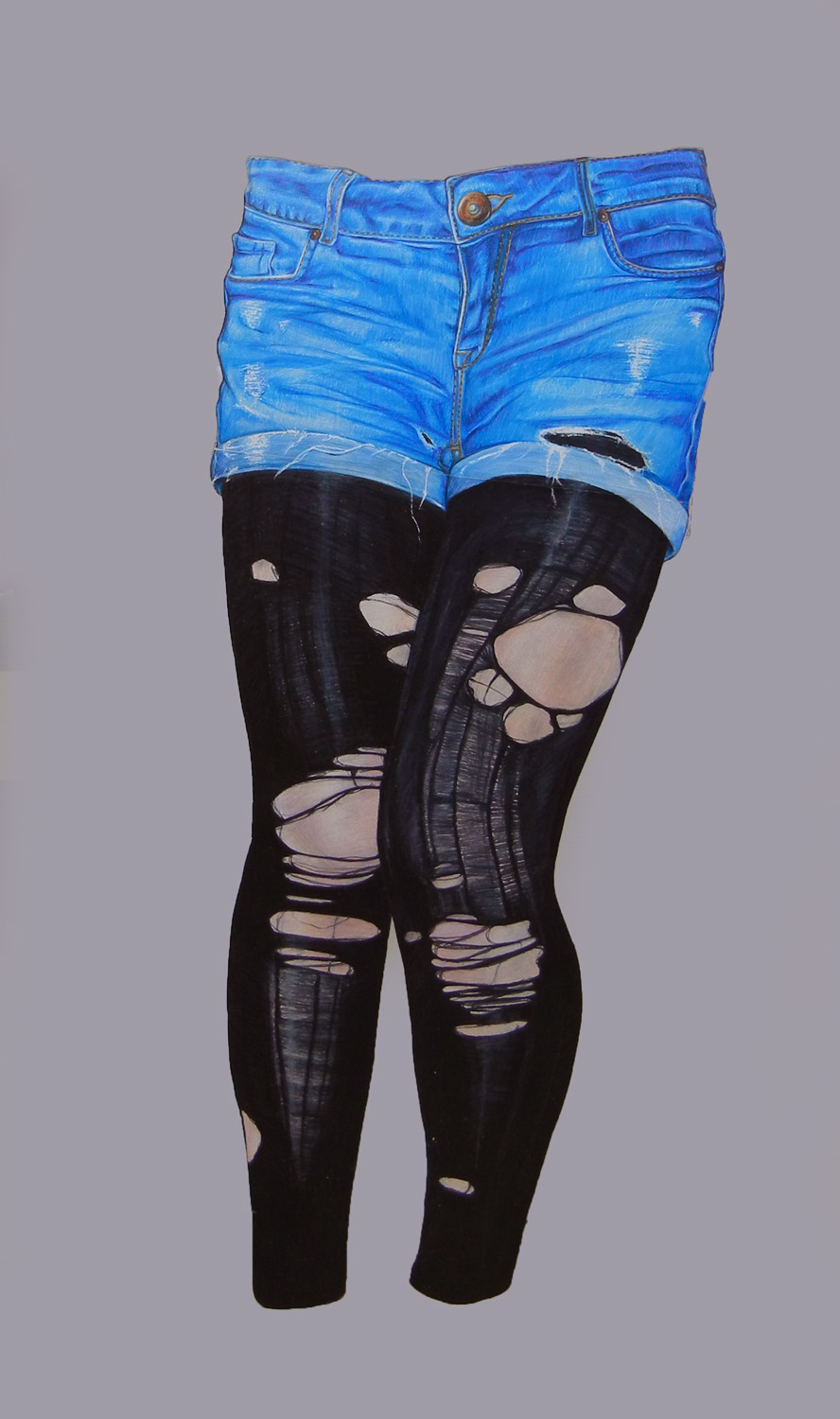 Ripped Tights by xXcourtneyXx808