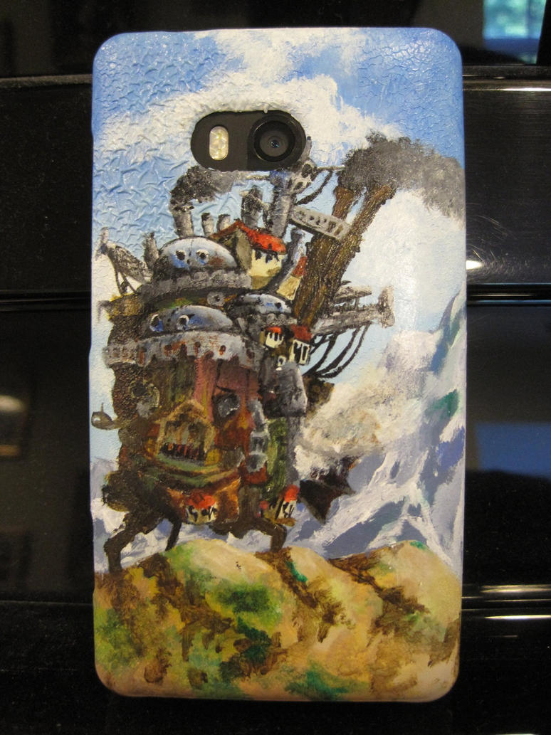 Howl's Moving Castle phone case by soupcan88