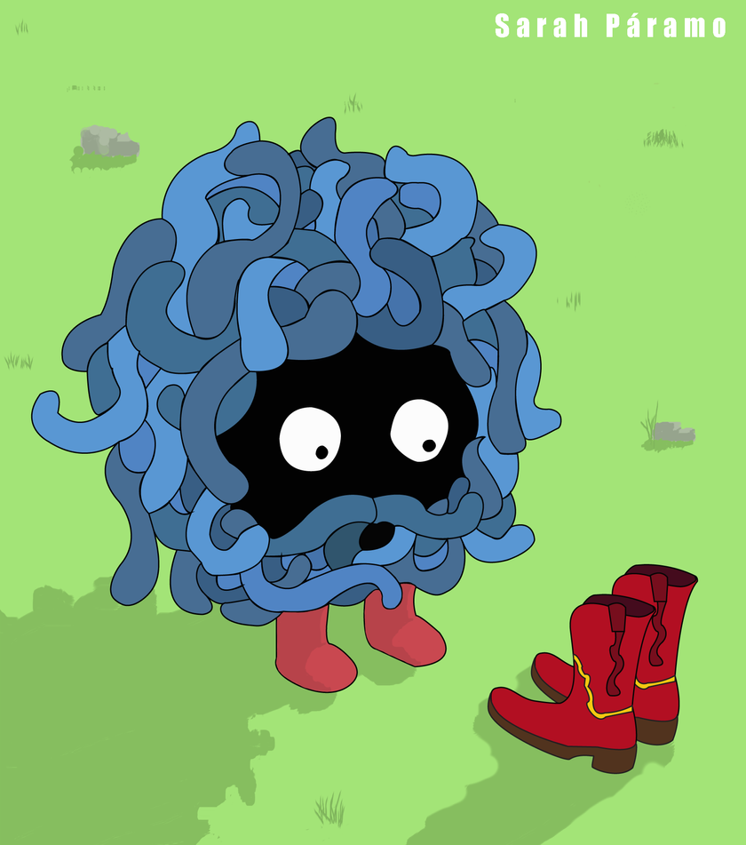 : Tangela : by SarahBob