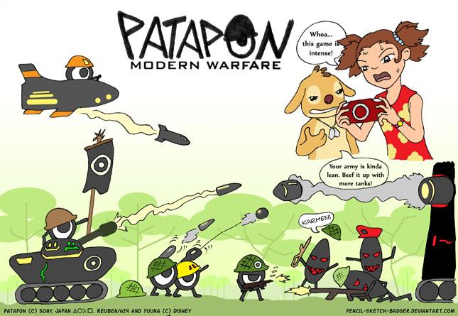 Patapon Modern Warfare -final- by malachitecat