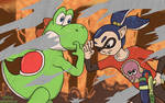 Yoshi + Splatoon - Clash of Titans