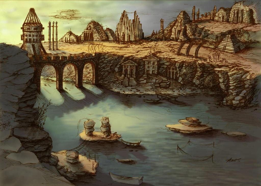 Landscape by agyany