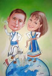 Bg Folklore dencers by agyany