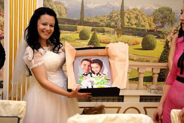 Happy wedding by agyany