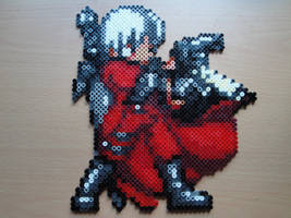 Dante Shoot Hama Sprite by rinoaff10