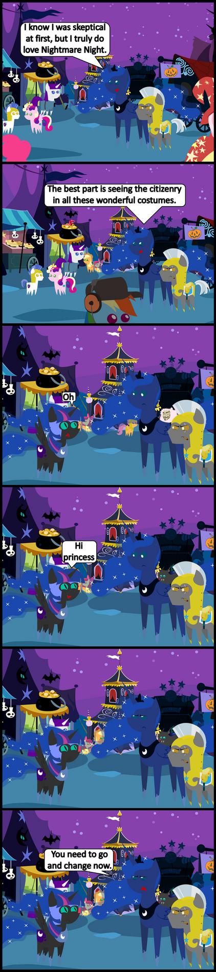 Nightmare Twilight by bronybyexception