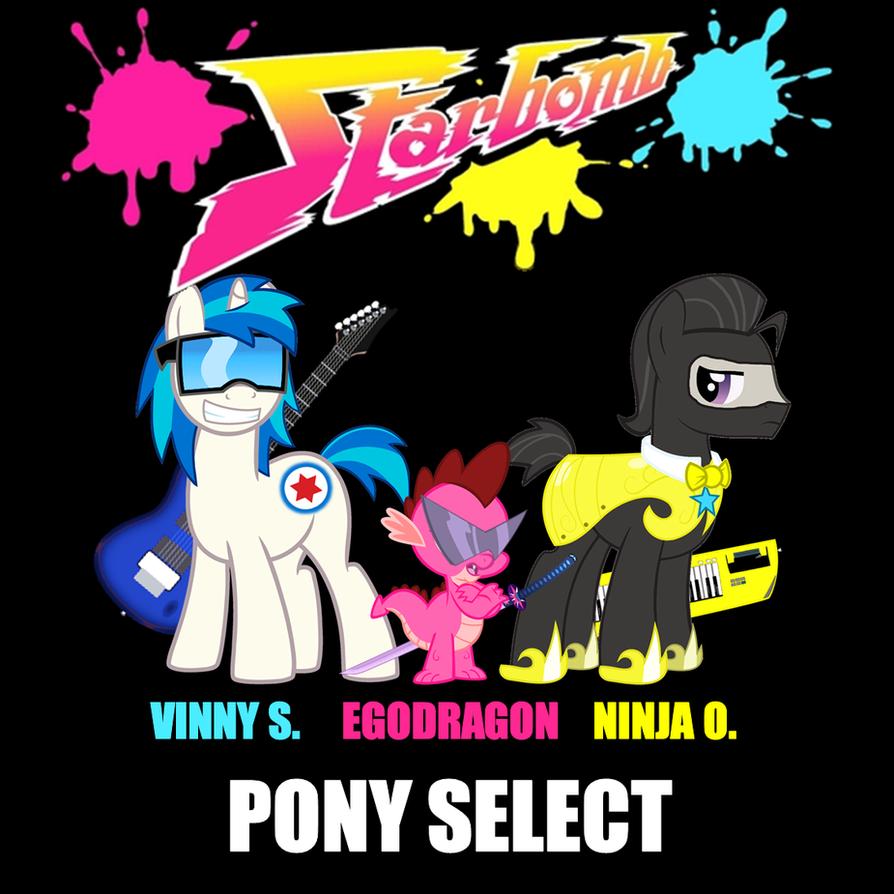 Starbomb Pony Select GO BUY IT by bronybyexception