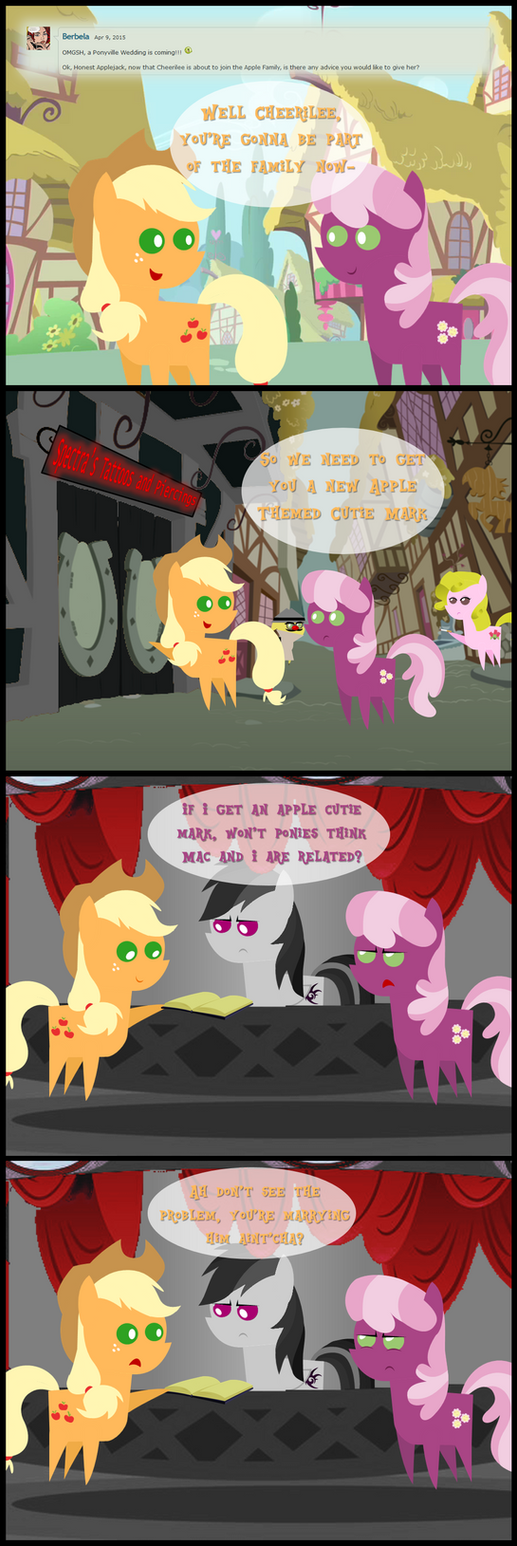 Ask Honest Applejack 37 by bronybyexception