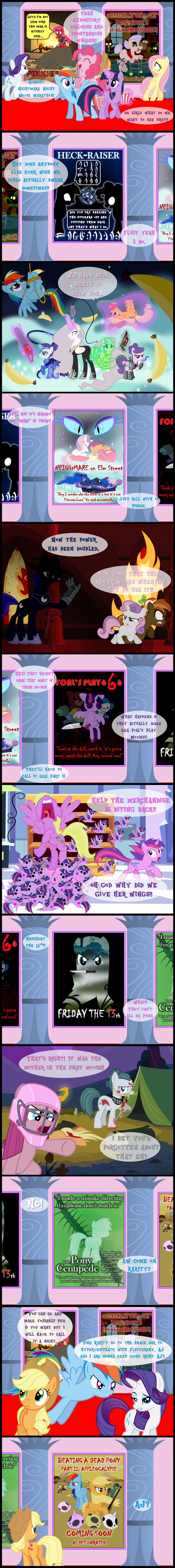 Nightmare Night Movie Madness by bronybyexception