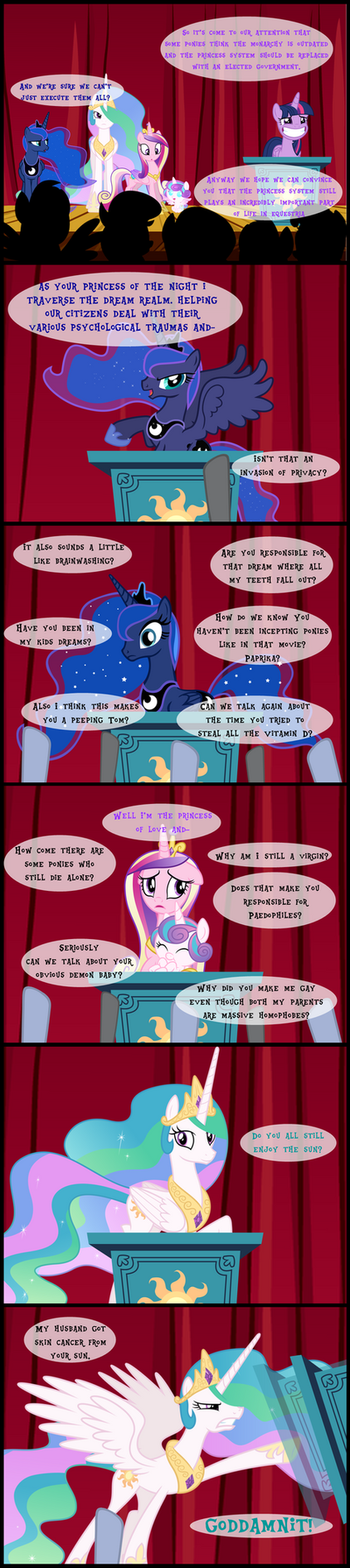 The Problem with Princesses by bronybyexception