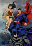 DC Trinity #Superman #Batman #wonderwoman