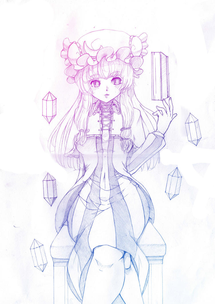 Sketch : Patchy by A-Rick