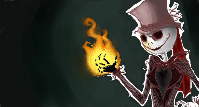 Pumpkin King Jack by Toxinity