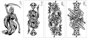 HoF Skeletons Face Cards