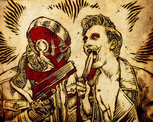 Red Hood vs Joker Cosplay