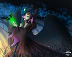 Maleficent by El-Mono-Cromatico