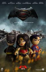 Batman v Superman by El-Mono-Cromatico