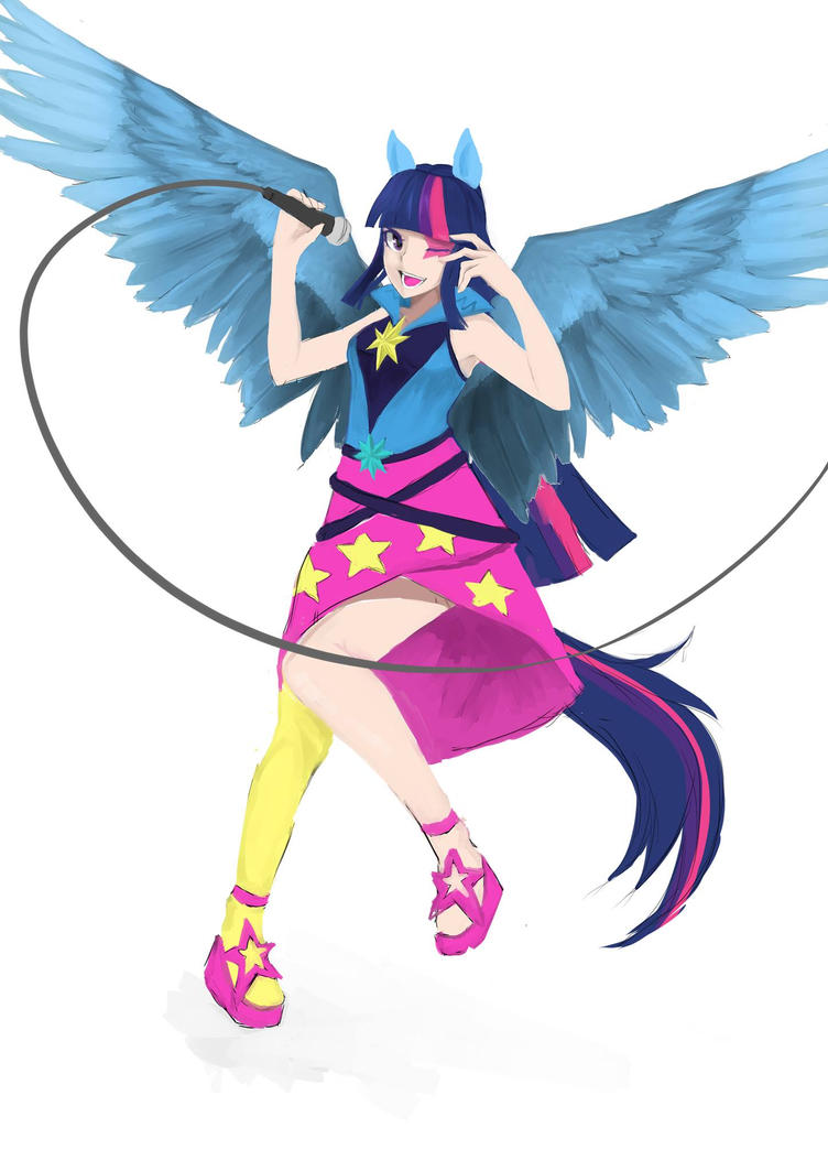 Twilight sparkle by saggitary