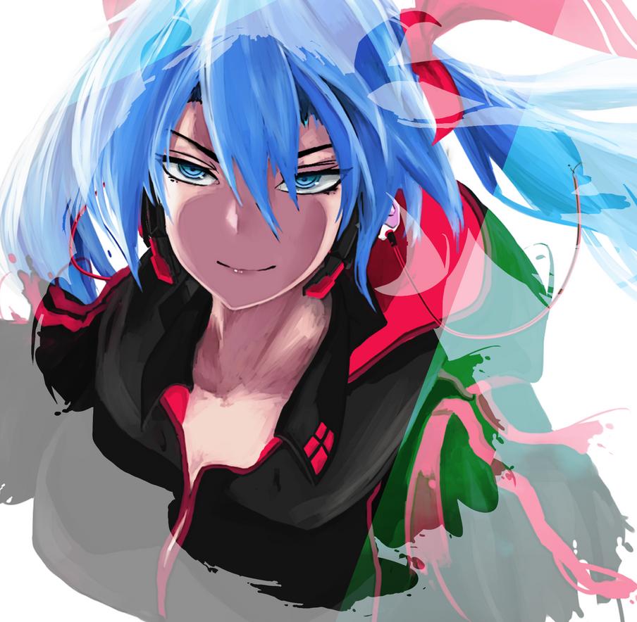 HatsuneMiku Overtune by saggitary