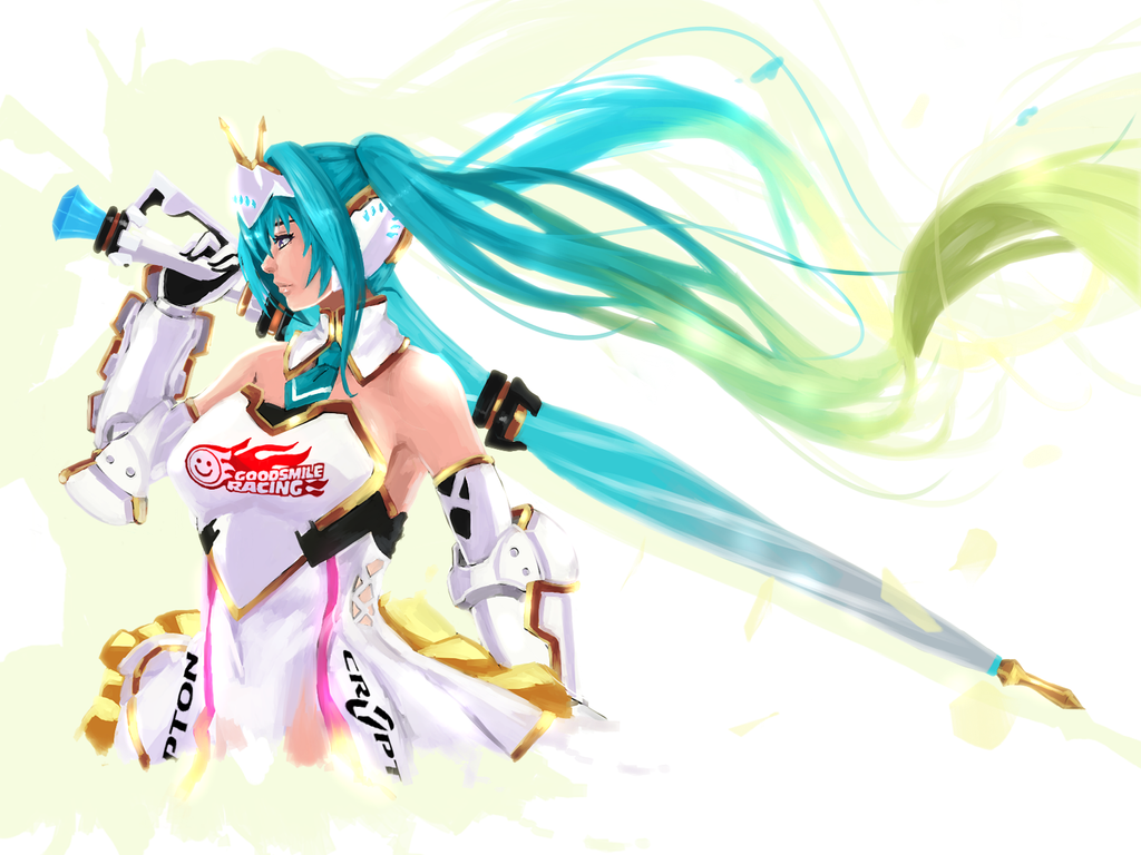 Racing Miku: 2015 by saggitary