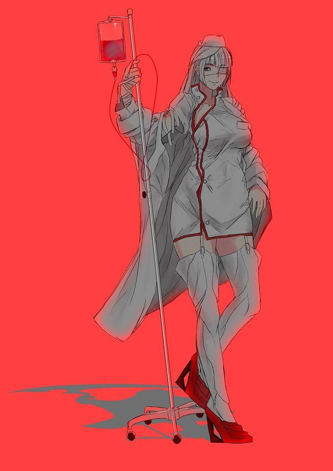 OC - nurse by saggitary