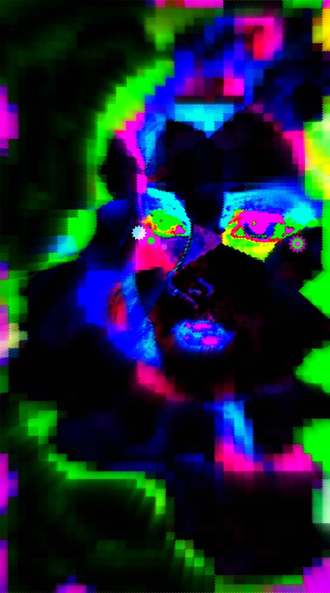 Broken Pixels: A Broken Pixel Heart By Matthew-Icarus On DeviantART