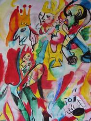 Death of a clown by Ebonyi